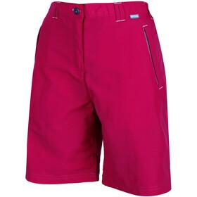 Regatta Chaska korte broek Dames roze